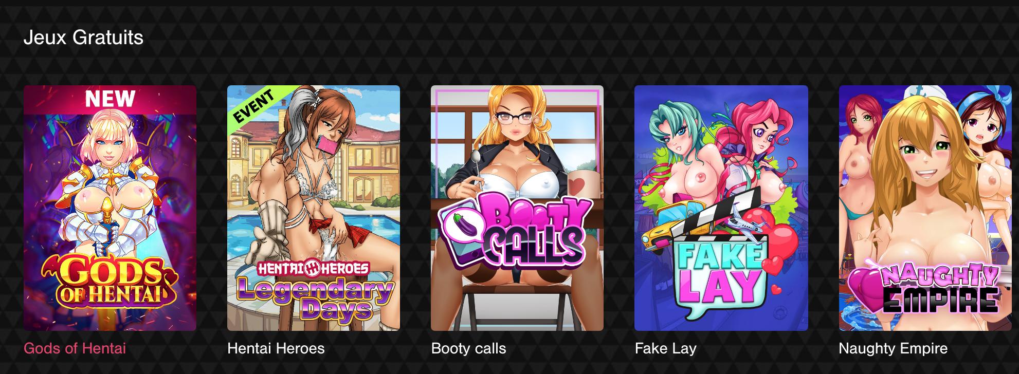 Jeux hentai porno en ligne gratuits